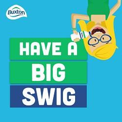 Drink more water with Buxton's Big Swig.