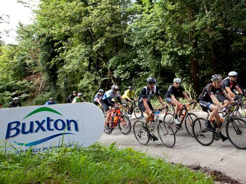 Buxton Water at the Prudential RideLondon for second year in a row