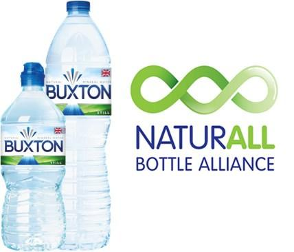 Buxton Water Small and Large Bottles - NaturAll Bottle Alliance